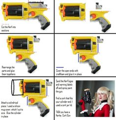 Nerf Cork Gun also @aidan rae!  This is pretty brilliant.