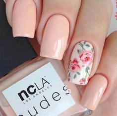 90 Stylish Spring Flower Nail Art Designs and Ideas 2019 Related posts: Spring Nail Art Cute Spring Nail Designs. Colorful Nail Designs, Nail Designs Spring, Cool Nail Designs, Nail Art Flowers Designs, Nail Designs Floral, Spring Design, Floral Design, Cute Nails, Pretty Nails