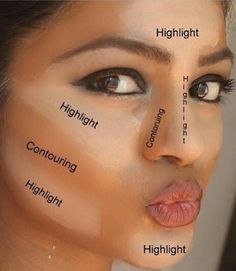 Highlight & Contour with BB Flawless!  You can click the picture and browse the shades or purchase in a set!