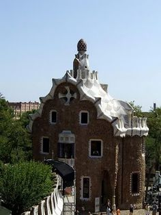 Parc Guell - this park is amazing, as at the apartment buildings done by the same architect.