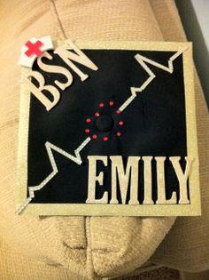 Finished my nursing graduation cap!