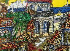 Cuban Art -El Malecon- Cuban Art, Music Writing, Cata, Various Artists, Art Music, Old And New, Folk Art, Gallery, Creative