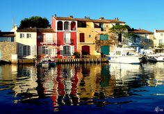 Port-Grimaud, Southern France. So beautiful!