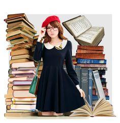 """Books"" by deborah-calton ❤ liked on Polyvore"