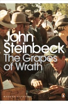 The Grapes of Wrath - John Steinbeck. enough cannot be said of this book. Read it in 5th grade. Still love it. Just one of the best American books ever.