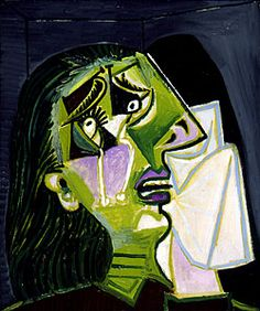 Pablo PICASSO  Spanish 1881-1973  Weeping woman  1937  oil on canvas  55.0 x 46.0 cm