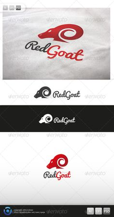 Red Goat Logo #GraphicRiver Red Goat Logo is 100% editable and resizeable vectors! suitable for racing, business, specialist, community or other related. Well organized file, All colors and text can be modified, read the instruction readme.pdf Font: Pacifico-regular, font is included in pack, no need to download. Files: .ai / .eps / .eps version 10 / .psd Size: Resizeable Contact me if you need any help and would be appreciate if you may rate this item.. Cheers! Created: 2November13…
