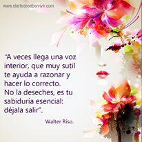 Frases Inspiradoras 777: Frases de Walter Riso