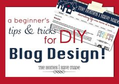 Tips and Tricks Blog Design