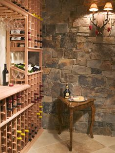 Wine Cellar - contemporary - wine cellar - minneapolis - by Gabberts Design Studio