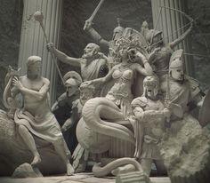 Medusa On Her Throne