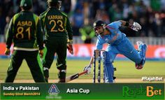 http://www.rajahsport.com/india-v-pakistan-asia-cup/ Rivalries always have a big appeal, and none less so than when the fixture is India v Pakistan.  As the Asian Cup readies itself for one of the main events, India v Pakistan. Tension will be almost as high as the level of expectation from both sets of fans.  The battle for Asian Cricket supremacy continues between the two international sides. #IndiavPakistan #CricketBetting #RajahBet