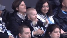 GIF: Meet the Cutest and Most Intense Pittsburgh Penguins Fan Ever | FatManWriting
