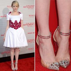 Emma and her amazing Louboutins