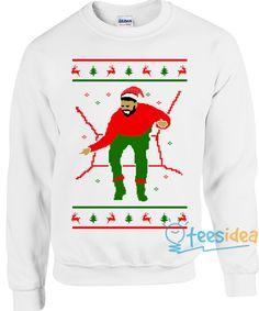 Drake Hotline Christmas unisex adult sweatshirts - Get 10% Off!!! - Use Coupon Code 'TEES10'