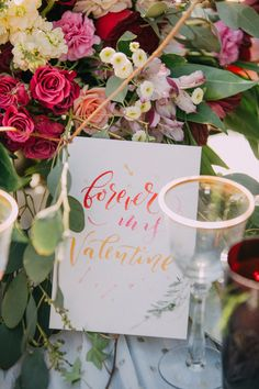 Valentines Day paper goods - photo by Endless Exposures Photography http://ruffledblog.com/styled-boho-engagement-party