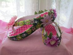 OOAK Fairy Flip FlopsFairy ShoesFae by AmethystWaysFairies on Etsy