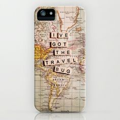 I've got the travel bug iPhone Case by Sylvia Cook Photography - $35.00