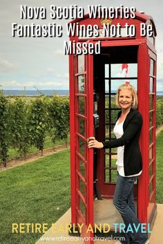 Finding out about wine is addictive. Once you get going, there's no end in sight. Going to new places, and enjoying friends are my favorite part of wine tastings. What is your favorite part of wine tasting? Click to read! http://www.retireearlyandtravel.com/nova-scotia-wineries/