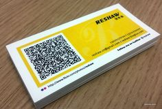 Here Is How To Design A High Tech QR Code Business Cards Plus 20 Examples For Inspiration Carte De Visite