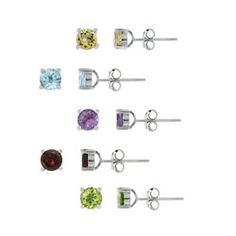 I need earring studs! make sure some sort of silver is in there and light blue if possible. I like ones like these and the little bead ball thing ones....yea I am so not a girl
