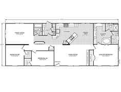 41 delightful mobile homes images fleetwood homes floor plans rh pinterest com