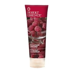 Shine Enhancing & Gluten Free Leaping Bunny Certified Desert Essence Red Raspberry Conditioner is a rich, shine enhancing formula which uses natural oils and Red Raspberry leaf Extract soft shiny, more manageable hair. Coconut Oil Cleanser, Shampooing Bio, Emergency Preparedness Items, Boutique Bio, Cheveux Ternes, Red Raspberry Leaf, Desert Essence, Green Toys, Jojoba