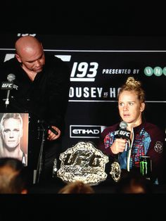 Holly Holm shocks the world! Holly Holm, Ufc, Broadway Shows, Presents, World, Gifts, The World, Favors, Earth