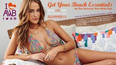 Who doesn't love a Summer Sale - Save 15% #allwetbeachwear