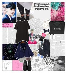 """°○·☆; pokemon master tao"" by pearliemoon ❤ liked on Polyvore featuring MONICA ROSE, Marni, Boohoo, Bobbi Brown Cosmetics, Korres, Chanel, Diesel, Assouline Publishing and H&M"