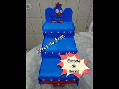 Escada de Doces Galinha Pintadinha - YouTube