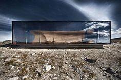 Wild Reindeer Centre Pavilion in Norway #design #architecture #nature