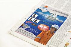 Estrategia de Promoción: Anuncio Publicitario. Cliente: Safety Offshore of México. #portafolio3dmentes