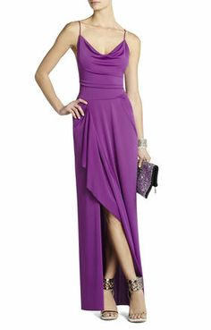 BCBG Hedi Draped Gown - just bought this today to wear to a sorority formal :)