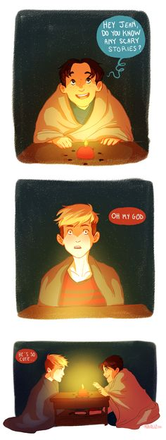 JeanMarco Week Day 4- Candlelight by Mogoliz.deviantart.com on @DeviantArt