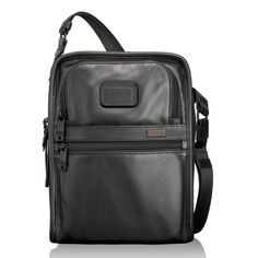 TUMI - Organizer Travel Leather Tote - Alpha 2 Collection #EdwardsEverythingTravel