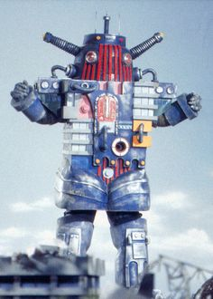 Building-Robot from 'Daitetsujin 17 (one-seven)' 1977