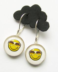 earrings SMILE by woodfairy on Etsy, $33.00