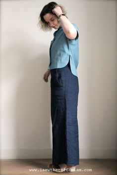 Kalle Cubed: A Kalle Shirt Batch Sew Extravaganza! A new blog post all about my three kalle shirts - cropped, tunic and dress lengthen