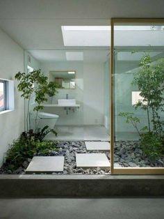 40 Modern and Futuristic Interior Designs to Inspire You - . - 40 Modern and Futuristic Interior Designs to Inspire You – - Patio Interior, Bathroom Interior Design, Interior Work, Interior Designing, Beautiful Bathrooms, Modern Bathroom, Master Bathroom, Relaxing Bathroom, Small Bathroom