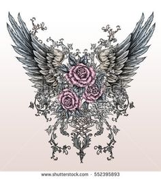 https://thumb10.shutterstock.com/display_pic_with_logo/168979436/552395893/stock-photo-hand-drawn-wings-with-roses-in-tattoo-style-552395893.jpg