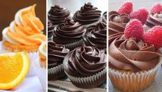 Baking Recipes, Cake Recipes, Dessert Recipes, Czech Recipes, Cheesecake Cupcakes, Buttercream Recipe, Mini Cheesecakes, Eclairs, Sweet And Salty