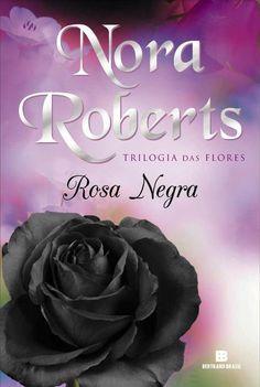 Esta é a verdadeira capa de 'Rosa Negra' fundo lilás... está tão linda e encantadora quanto o livro #TrilogiadasFlores2