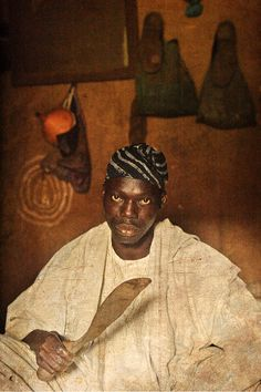 Emissaries of an iconic religion12. Orisa Obatala [deity of creation] - Chief Awolowo Osasana Oyeniyi