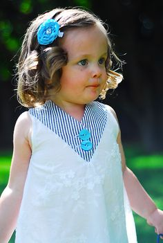 """The """"Babbey"""" Tunic: for easter, with pop floral green and brown?"""