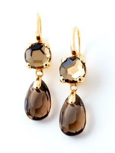 Pomellato Narcisco, Smokey Quartz Earrings.