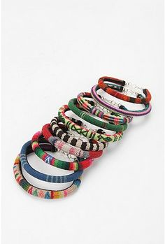 Urban outfitters woven bracelets