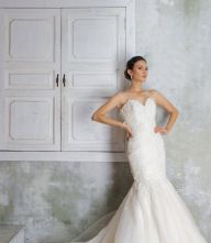Marilyn (3) Designer Wedding Gowns, Designer Gowns, Plus Size Designers, Crystal Beads, Veil, Bridal Gowns, High Fashion, Bride, Lace