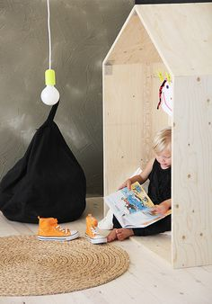 Ply wood creates simple space. Great Brands: Luona | Nordic Days