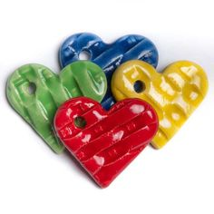 Hearts with a hole.....this could be used by people of any age...not just for kids!